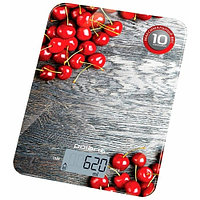 Весы кухонные Polaris PKS 1046DG, вишня