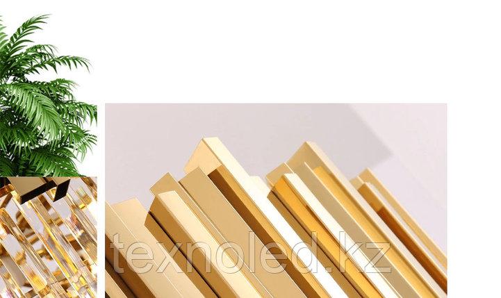 Люстра Gold light ellipse, фото 2