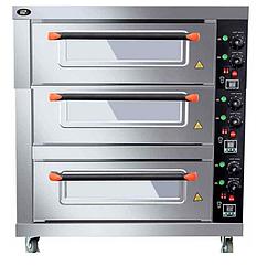Шкаф пекарский электрический 3 уровневый (Печи для выпечки, Жарочный шкаф, Печь для выпечки хлеба)