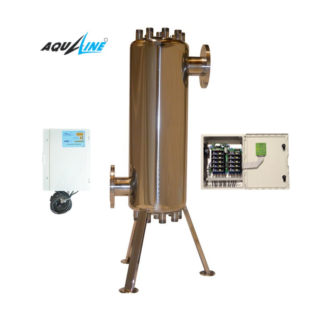 УФ установка обеззараживания воды Aqualine ES -150 PRO ( произв-ть 50 м3/час)