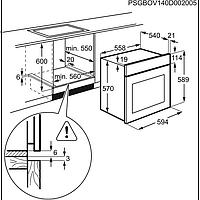 Встраиваемый духовой шкаф Electrolux OEF5C50V, фото 6