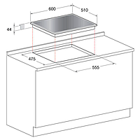 Встраиваемая варочная панель Hotpoint-Ariston 641 TQG /HA(BK), фото 3