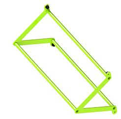 Перекладина треугольная D32/32/32 ZSO-1100