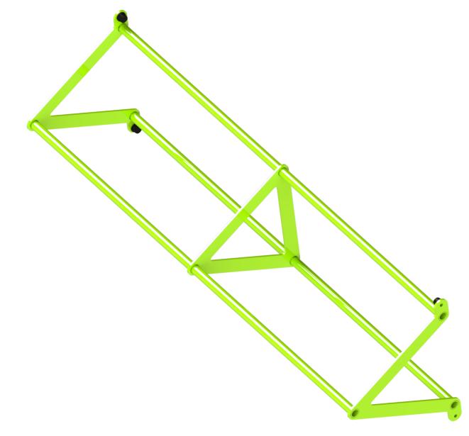 Перекладина треугольная D32/32/32 ZSO-1800
