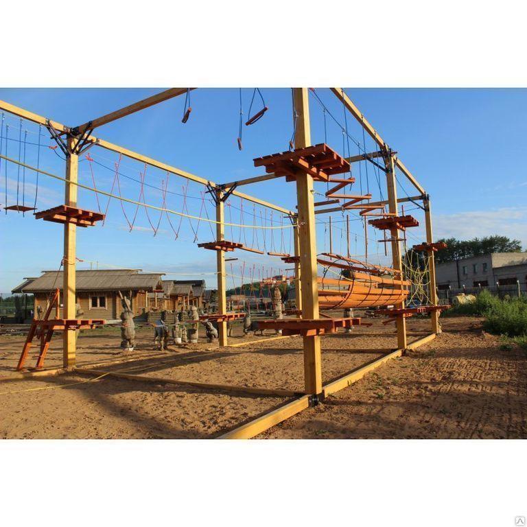 Детский спортивный комплекс Мобильные веревочные парки