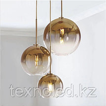 Люстра Gradient Color Glass Ball Chandelier, фото 3