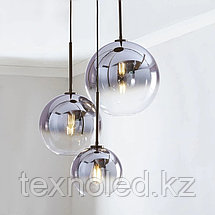 Люстра Gradient Color Glass Ball Chandelier, фото 2