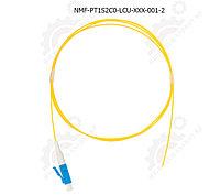 Шнур оптический монтажный, SM 9/125 OS2, LC/UPC, LSZH, 0.9мм, желтый, 1м