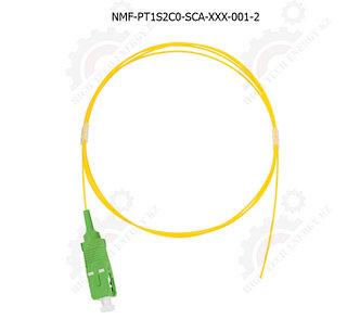 Шнур оптический монтажный, SM 9/125 OS2, SC/APC