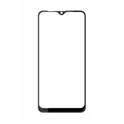 Защитное стекло Samsung A2 Core 2019, Samsung A260 2019 Окантовка Black A-Case, фото 2