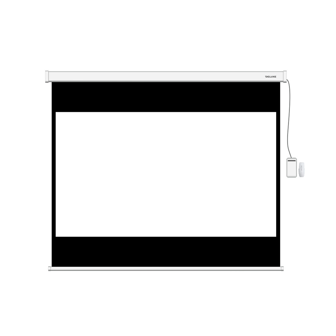 Экран моторизированный (с пультом Д/У) Deluxe DLS-ERC274х206W