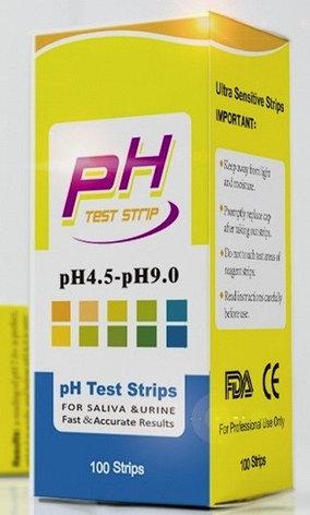 Индикаторная (Лакмусовая) бумага. 4.5 - 9.0. PH тест - 100 полосок, фото 3