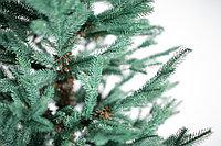 Ель искусственная с литой хвоей голубая или зеленая 240 см, фото 5