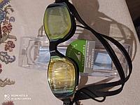 Очки для плавания с берушами в чехле