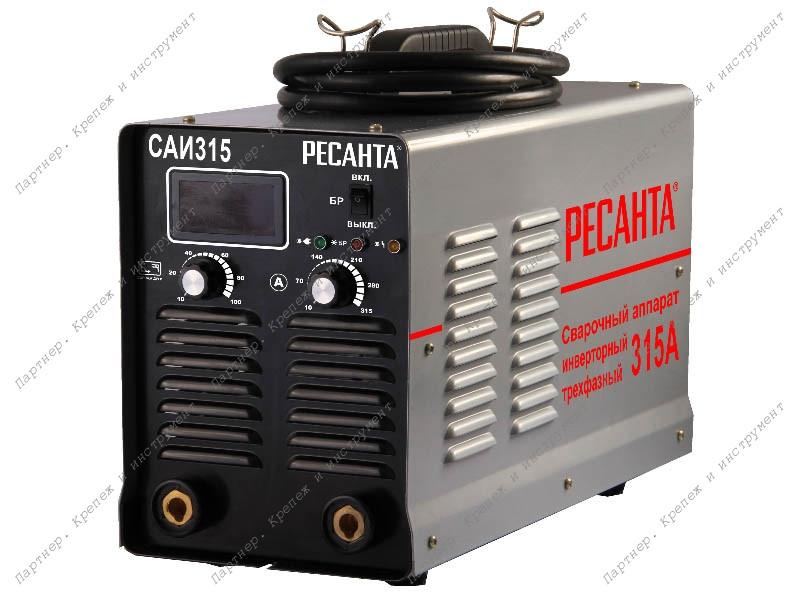 Сварочный аппарат  инверторный   САИ 315 3ф