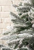 Искусственная ель снежная Мария (Ель заснеженная ветки вниз) высота 150 см, фото 3