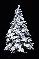 Искусственная ель снежная Мария (Ель заснеженная ветки вниз) высота 150 см, фото 6