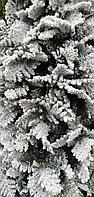 Искусственная ель снежная Мария (Ель заснеженная ветки вниз) высота 180 см, фото 2
