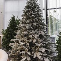 Искусственная ель снежная Мария (Ель заснеженная ветки вниз) высота 180 см, фото 4