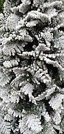 Искусственная ель снежная Мария (Ель заснеженная ветки вниз) высота 210 см, фото 2