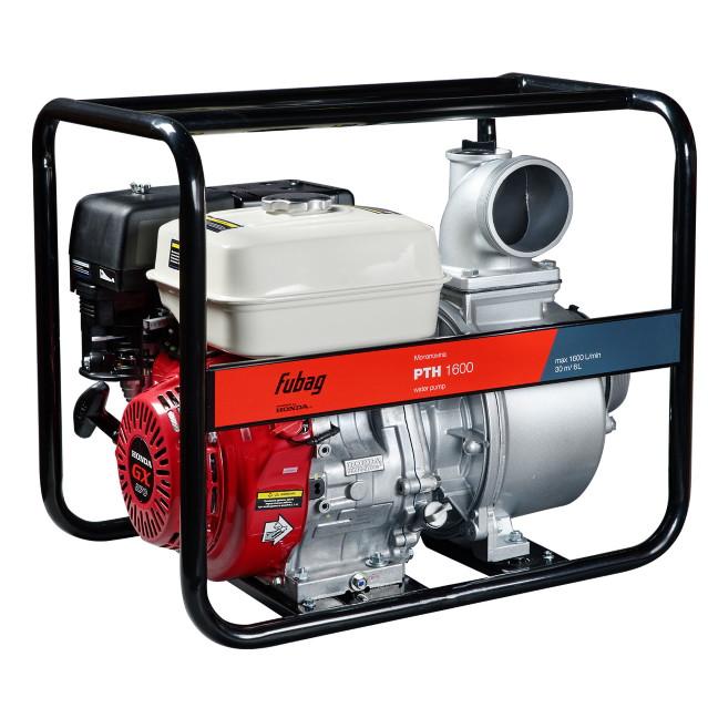 Мотопомпа бензиновая PTH1600 двигатель Honda 1600 л/мин 30м 4мм