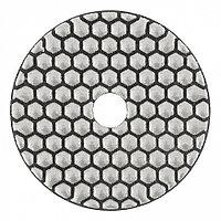 Алмазный гибкий шлифовальный круг, 100 мм, P400, сухое шлифование, 5 шт. Matrix