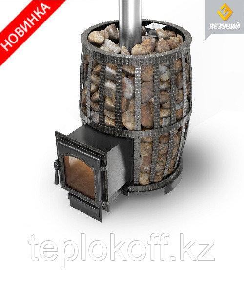 Печь банная Везувий Легенда Русский пар (Ковка) 24 дверца 270