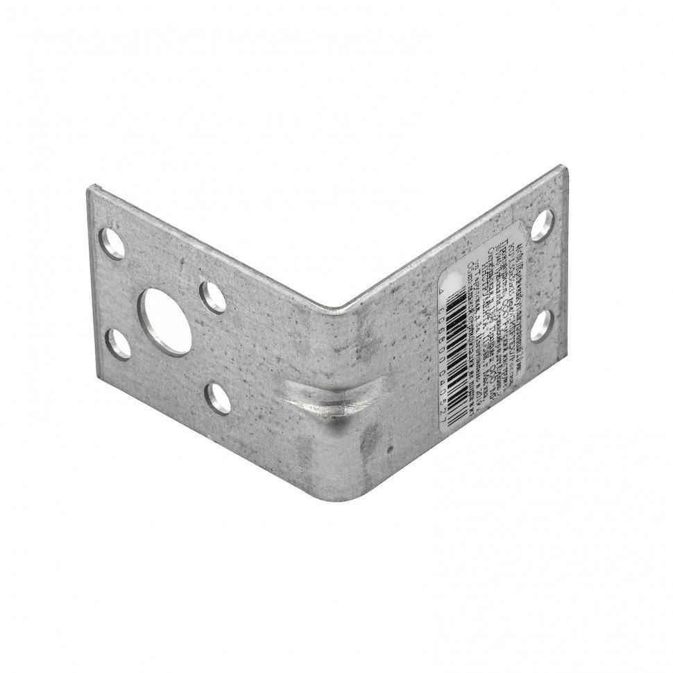 Крепежный уголок усиленный 2 мм, KUU 50 x 50 x 35 мм Россия Сибртех