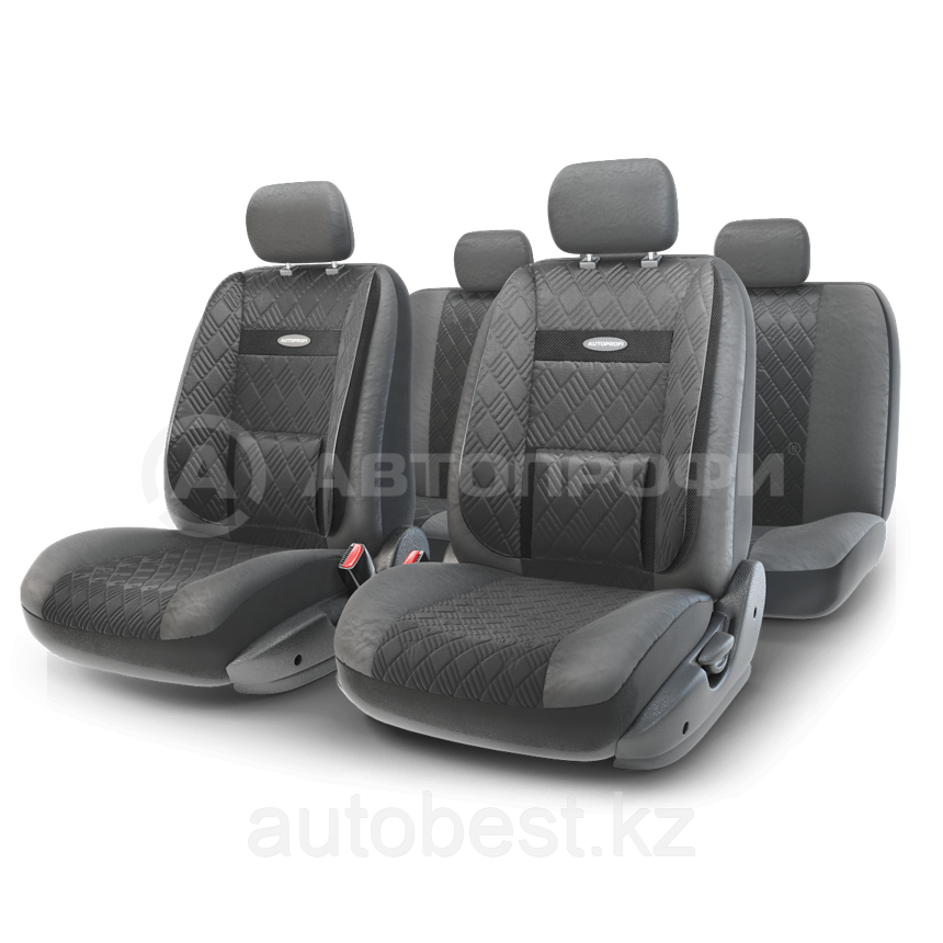 Чехлы на сиденья Comfort COM комбинированные с экокожей