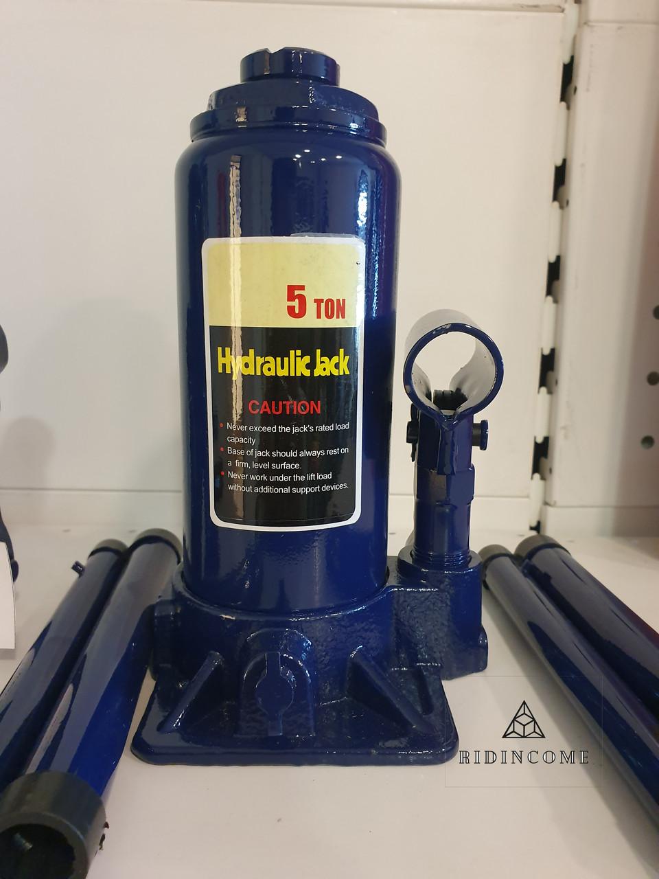 Домкрат гидравлический бутылочный 5 тонн