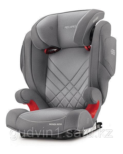 Recaro: Автокресло Monza Nova 2 SeatFix Aluminium Grey (15-36кг)  1144208
