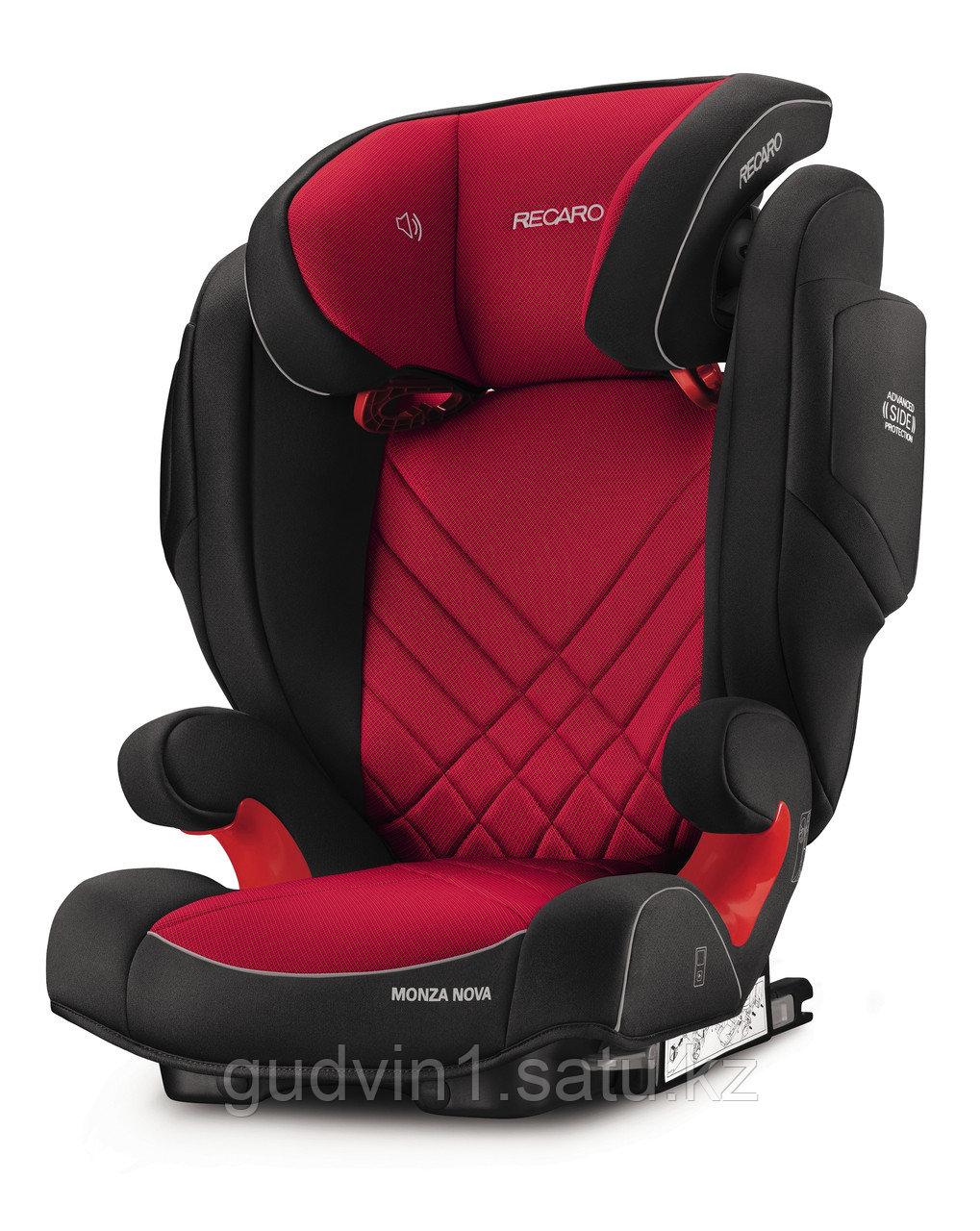Recaro: Автокресло Monza Nova 2 SeatFix Aluminium Grey (15-36кг)  1144209