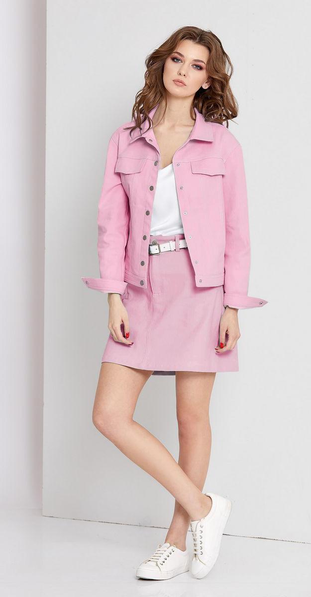 Куртка EOLA-1668/4, розовый, 46