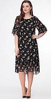 Платье Дали-5408, цветочки, 52