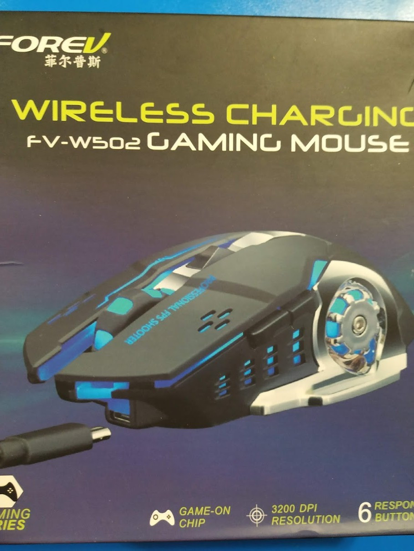Мышь беспроводная FOREV W502 с зарядкой от USB, 3200 DPI