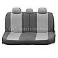 Чехлы Comfort с литым подголовником т,серый/св,серый(9), фото 7