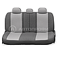 Чехлы Comfort с литым подголовником черно-серый(9), фото 6