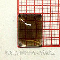 Кабошон прямоугольник 15*20 мм