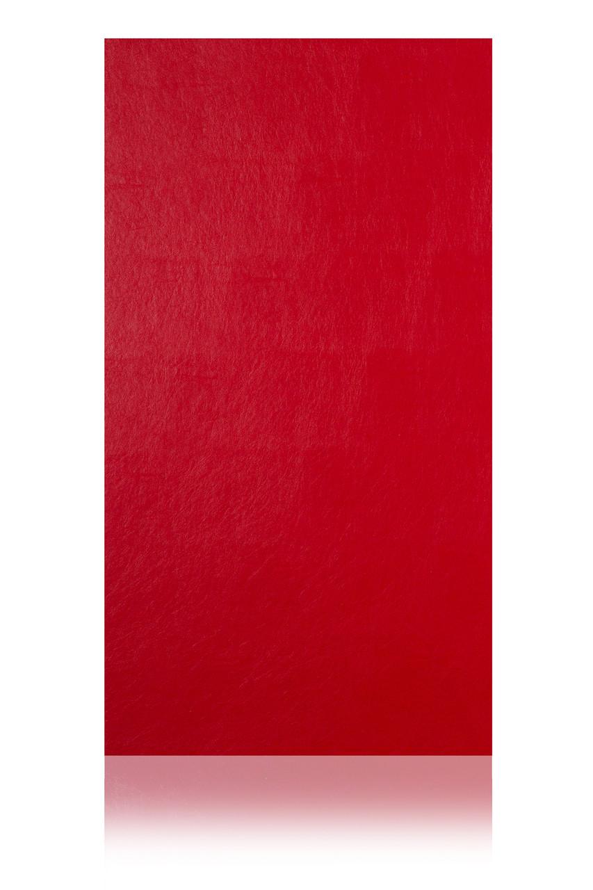 Кожаные панели 2D ЭЛЕГАНТ, Red, 1200х2700 мм Казахстан - фото 2