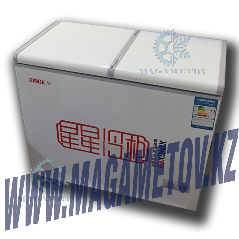 Морозильник-ларь XINGX 220л Бабочка