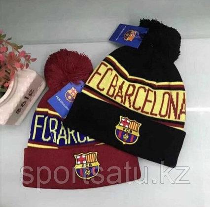 Шапка с помпоном ФК Барселона
