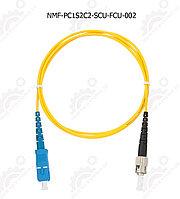 Шнур оптический переходной, SM 9/125 OS2, SC/UPC-FC/UPC
