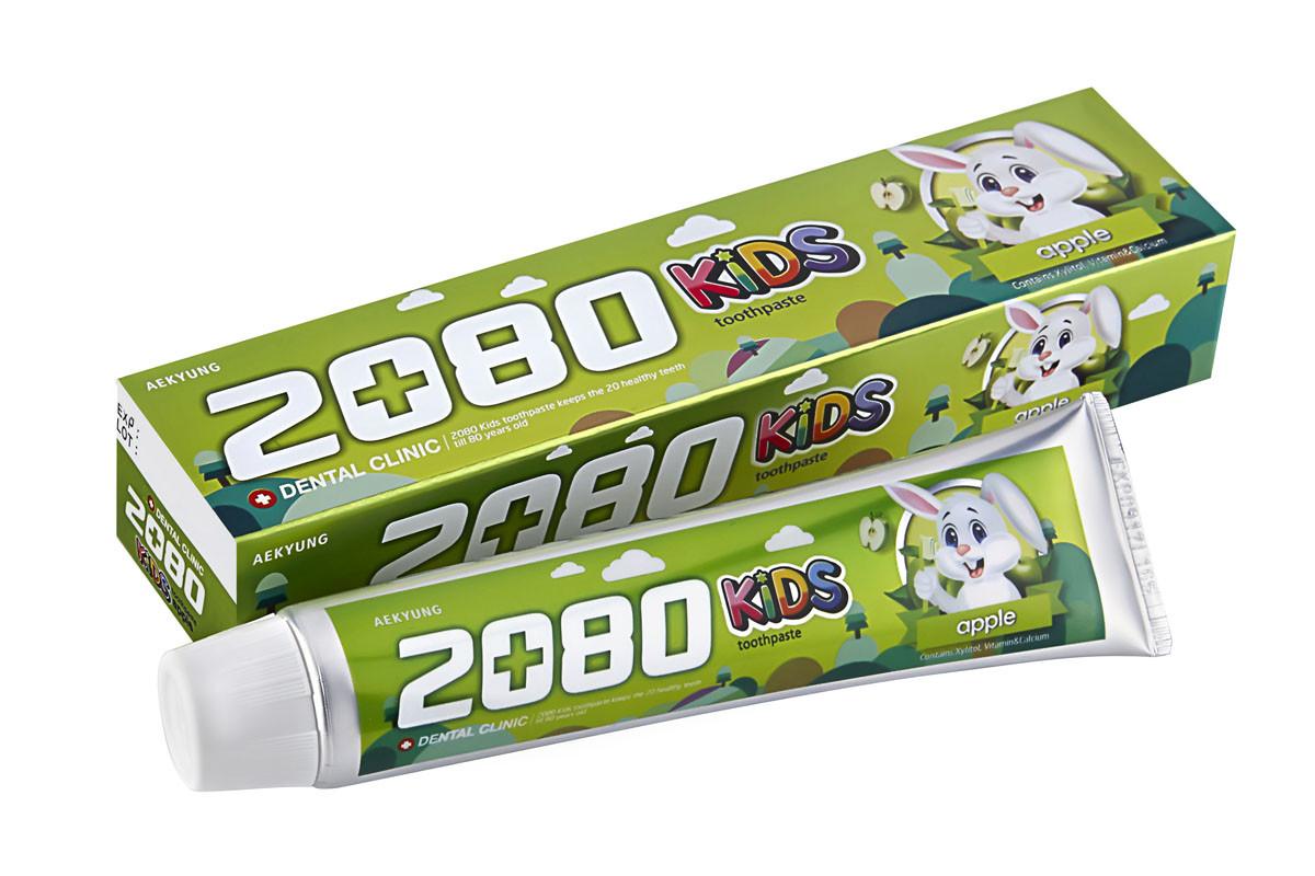 "Детская зубная паста ""Яблоко"" Dental Clinic 2080 Toothpaste for Children Apple  80 гр"