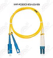 Шнур оптический переходной, SM 9/125 OS2, SC/UPC-LC/UPC