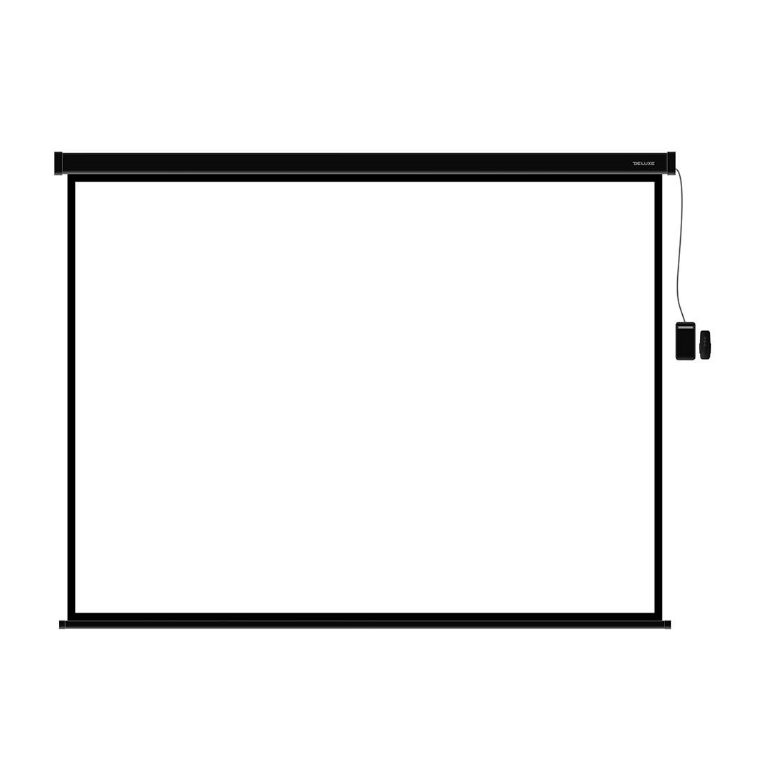 Экран моторизированный (с пультом Д/У) Deluxe DLS-ERC406х305B