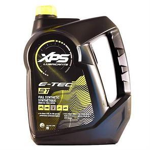 Полностью синтетическое 2-тактное, моторное масло XPS для снегоходов с системами E-TEC, SDI, DI (3,785 л.)