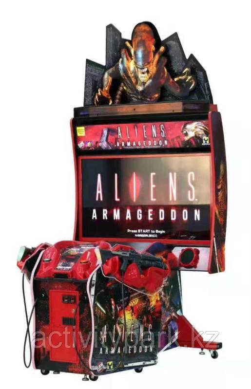 Игровой автомат - Aliens Armaggedon