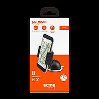 Автомобильный держатель для смартфона ACME PM2204 clamp dash, фото 1