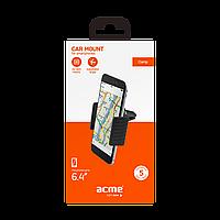 Автомобильный держатель для смартфона ACME PM2103 clamp air vent, фото 1