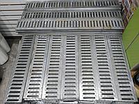 Решетка водоприемная штампованная стальная оцинкованная DN100, фото 1